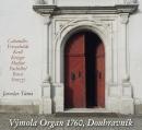 Výmolovy varhany 1760 Doubravnik